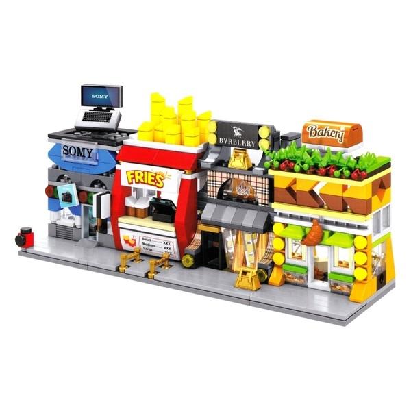 Jual Brick Sembo Sd6062 6065 Mini World Set Isi 4 Bh Mainan
