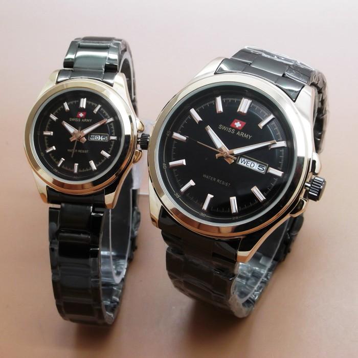 Swiss Army Couple SA5225 (Black Gold)