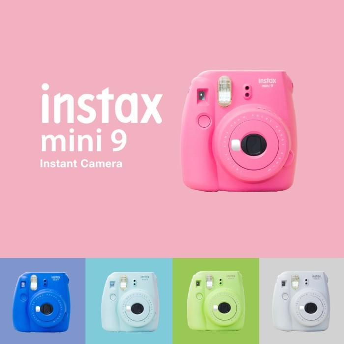 Jual Fujifilm Instax Mini 9 Kamera Polaroid - Jakarta