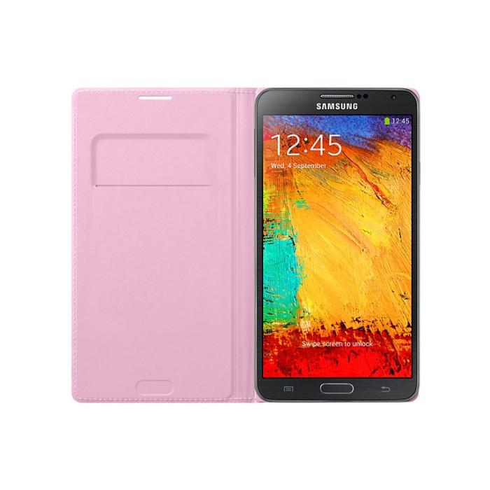 harga Samsung flip wallet cover for galaxy note 3 (original 100%) Tokopedia.com