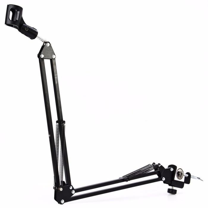 harga V-tech arm stand suspensi mikrofon - black Tokopedia.com