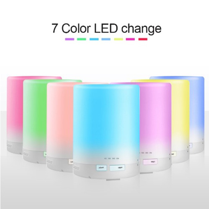 Aroma Essential Oil Diffuser Ultrasonic Air Humidifier 7 Color 300ml