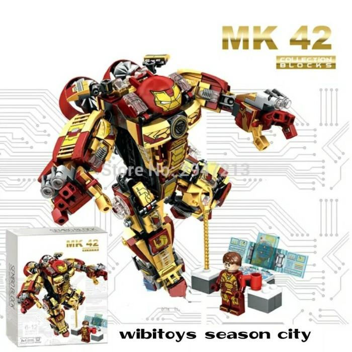 harga Lego super hero sembo 60021 mk42 ironman 2in1 mk 42 Tokopedia.com