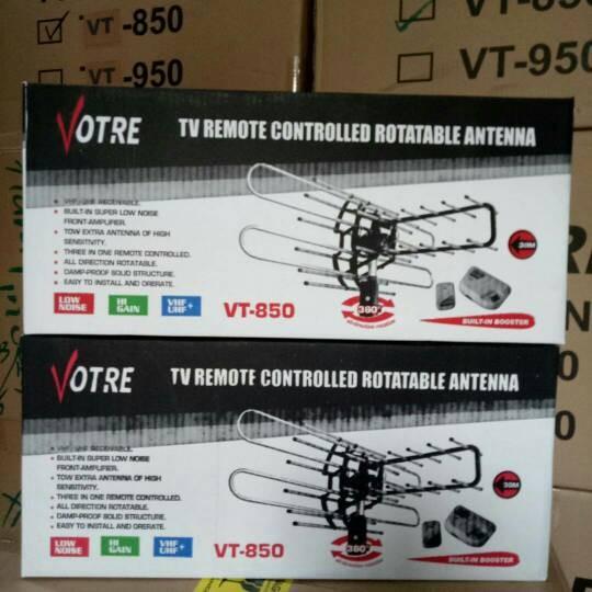 harga Antena tv remote votre vt-850 Tokopedia.com