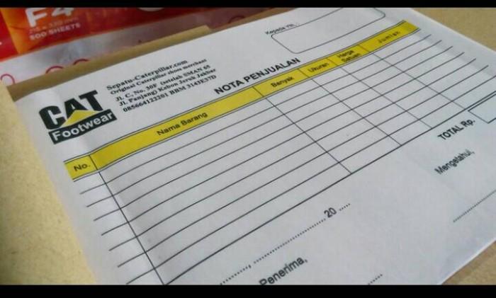 Jual Nota Bon Faktur Surat Jalan Kwitansi 12 Folio 2 Rangkap Kota Bekasi Atala Shop Tokopedia