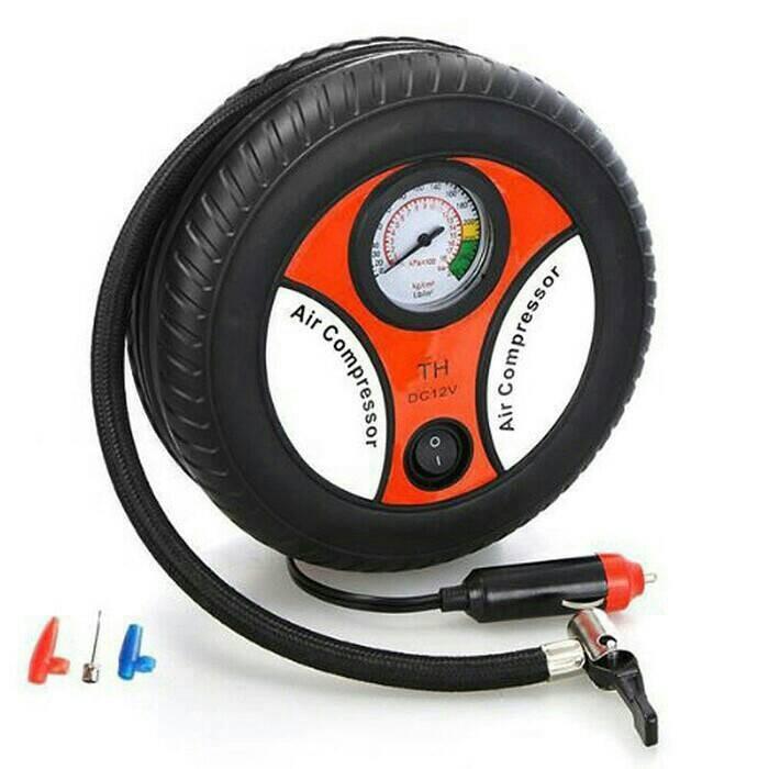 harga Mini portabel air compressor colokan hu pompa ban mobil motor sepeda Tokopedia.com