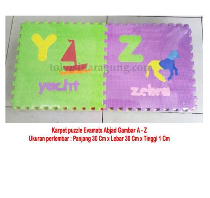harga Karpet puzzle evamats abjad gambar a - z Tokopedia.com