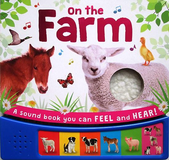 harga On the farm sound board book with 6 animal sounds Tokopedia.com