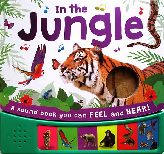 harga In The Jungle Sound Board Book With 6 Animal Sounds Tokopedia.com