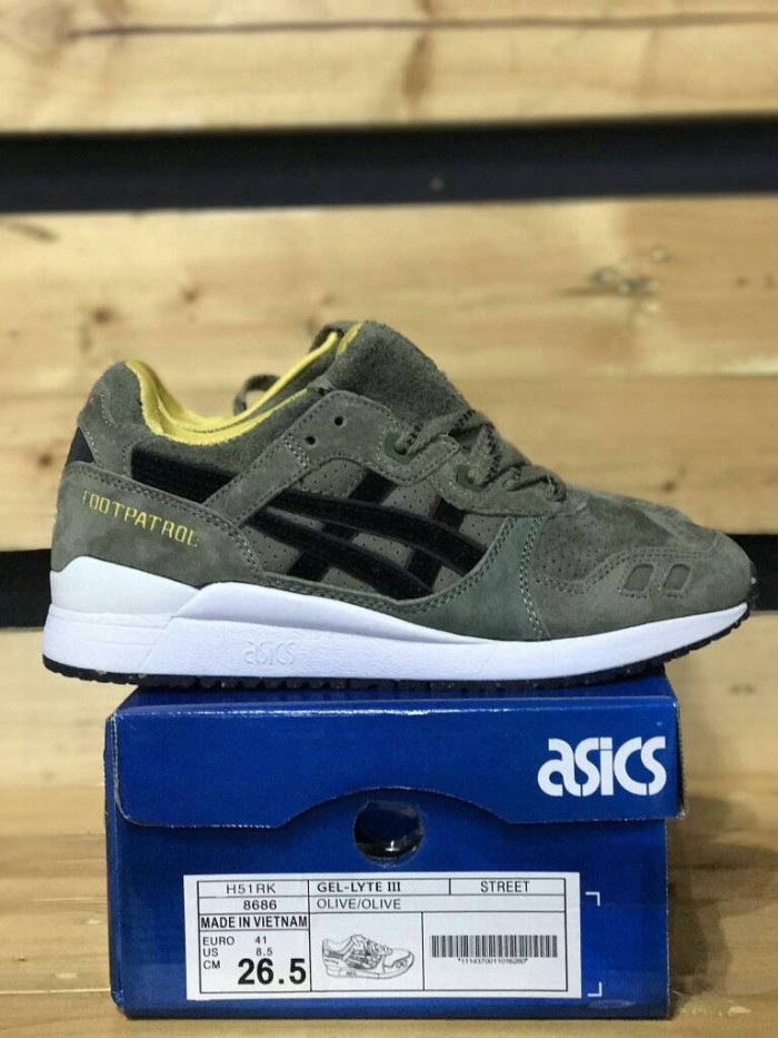 online retailer 89510 4323e Jual Asics Gel Lyte III Footpatrol x Asia GL3 Squad - newmas collection |  Tokopedia