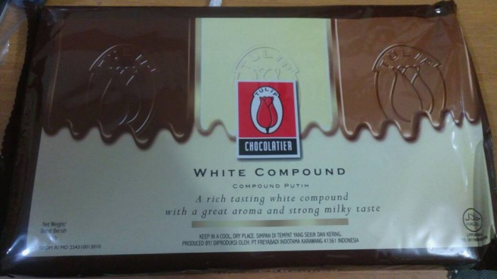 harga Tulip white compound chocolate 1 kg Tokopedia.com