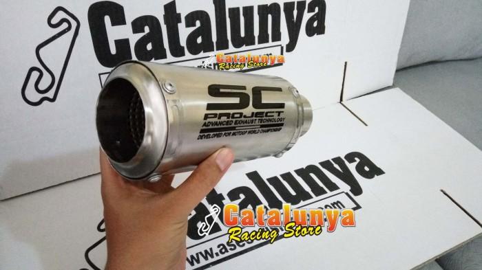 harga Knalpot racing ninja 250 sc project gp cr-t titanium sandblasting Tokopedia.com