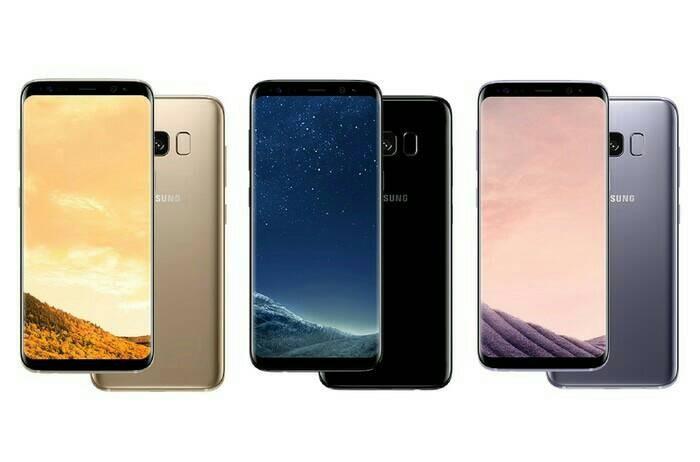 Samsung Galaxy S8 PLUS New Garansi Resmi SEIN RAM 4GB ROM 64GB