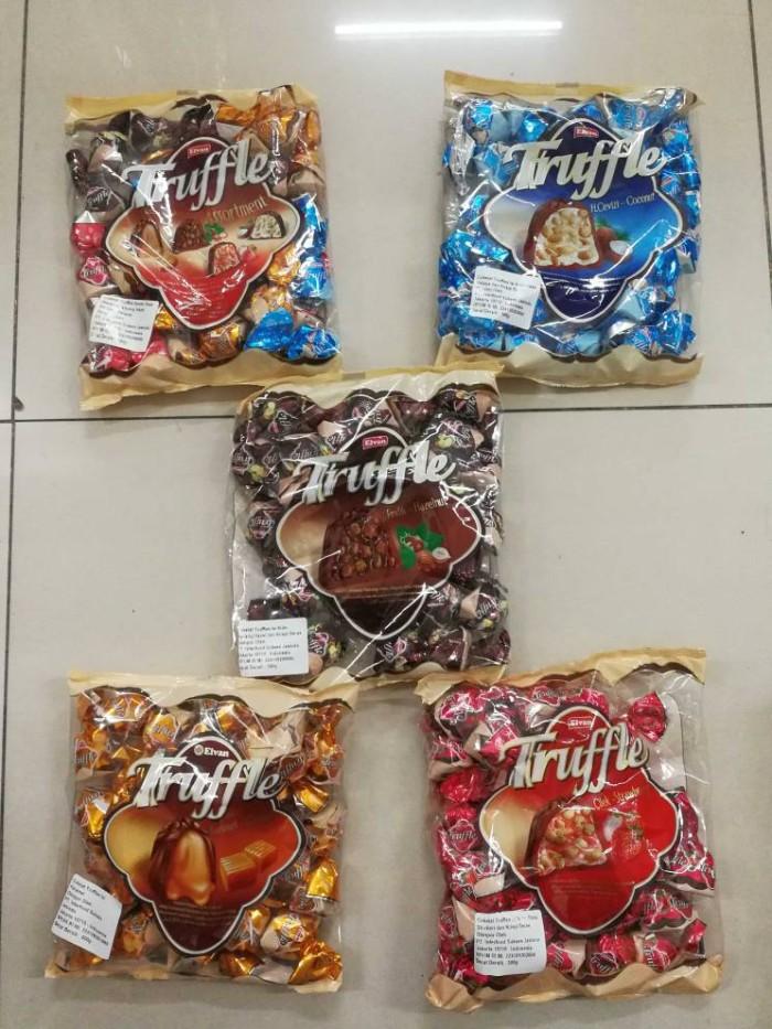 Elvan truffle trufle 500gr / coklat cokelat snack makanan ringan