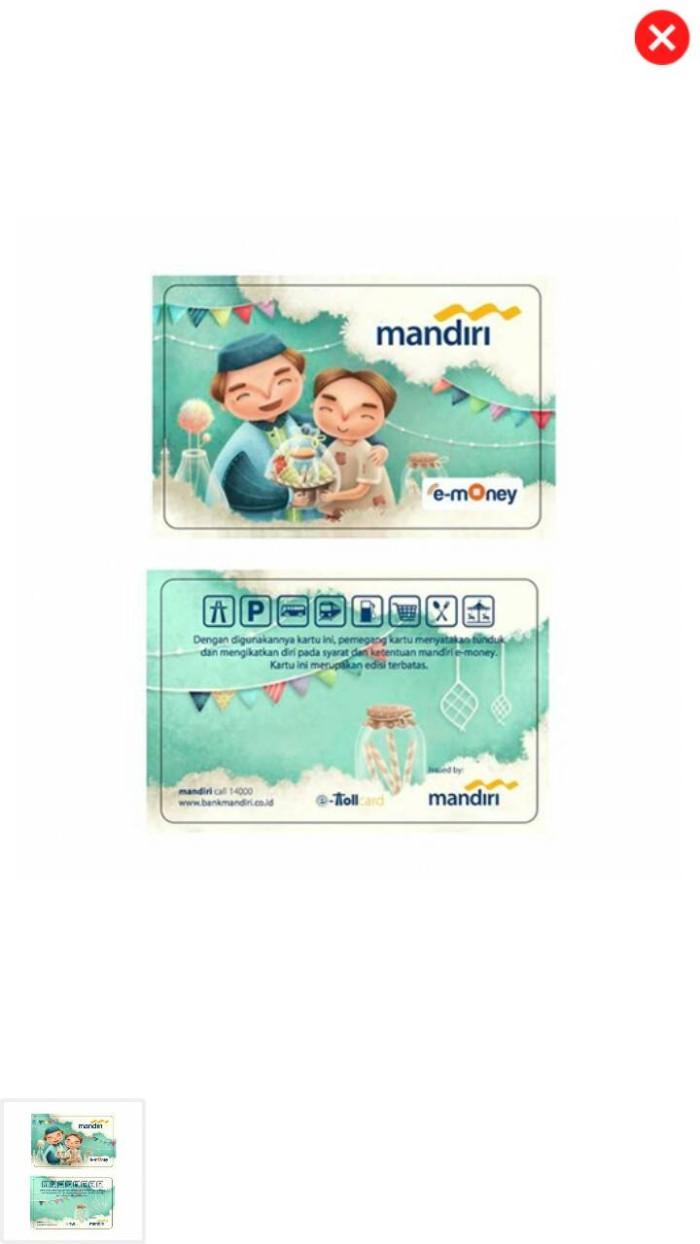 Jual E Money Ramadhan INDAHNYA BERBAGi Kota Surabaya NurA Phos