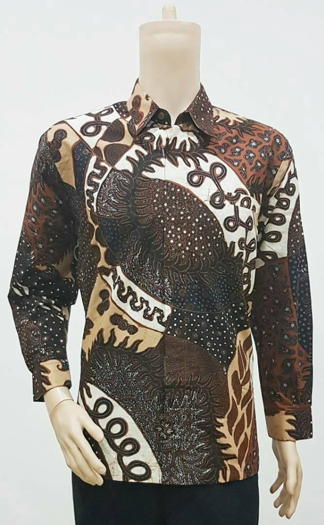 78 Gaya Baju Batik Tulis Kekinian
