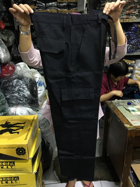 harga Celana panjang pdl hitam - celana panjang  jumbo Tokopedia.com