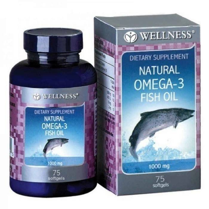 harga Wellness omega 3 fish oil 75 softgel Tokopedia.com