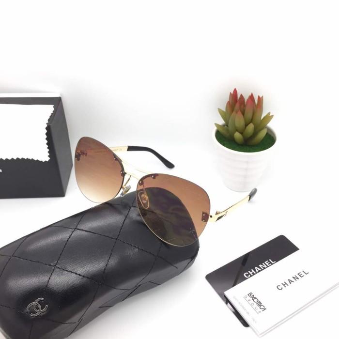 Kacamata chanel 5532 brown kacamata wanita fashion kacamata gaya murah ee0e49ffde
