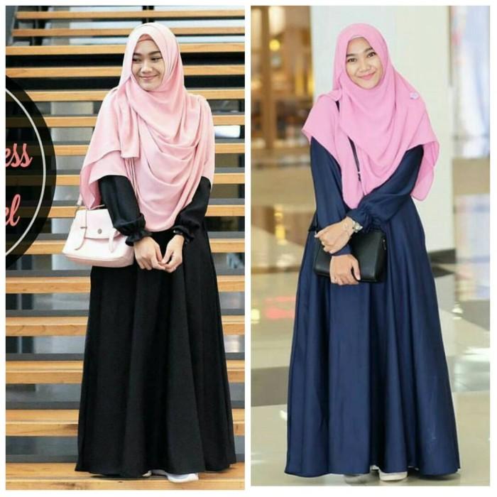 harga Baju muslim tunik atasan wanita blouse beiva dress Tokopedia.com