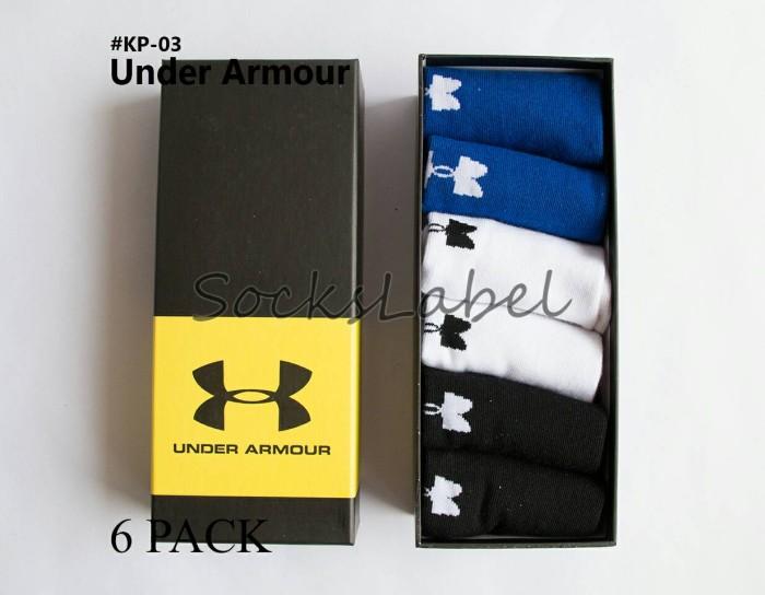 harga Premium socks kaos kaki pendek sport under armour pria/wanita kp-03 Tokopedia.com