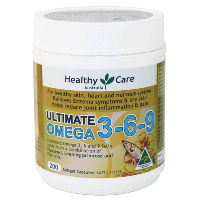 harga Omega 369 Healthy Care 200 Kapsul Tokopedia.com