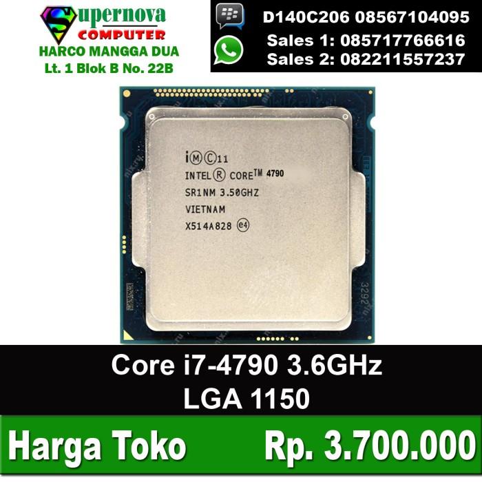 harga Processor intel core i7-4790 3.6ghz lga 1150 tray Tokopedia.com