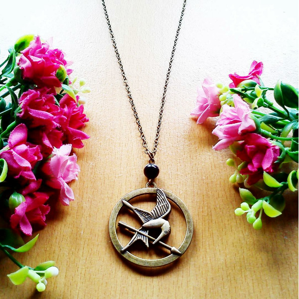 harga Kalung Hunger Games Mockingjay Catching Fire Tokopedia.com