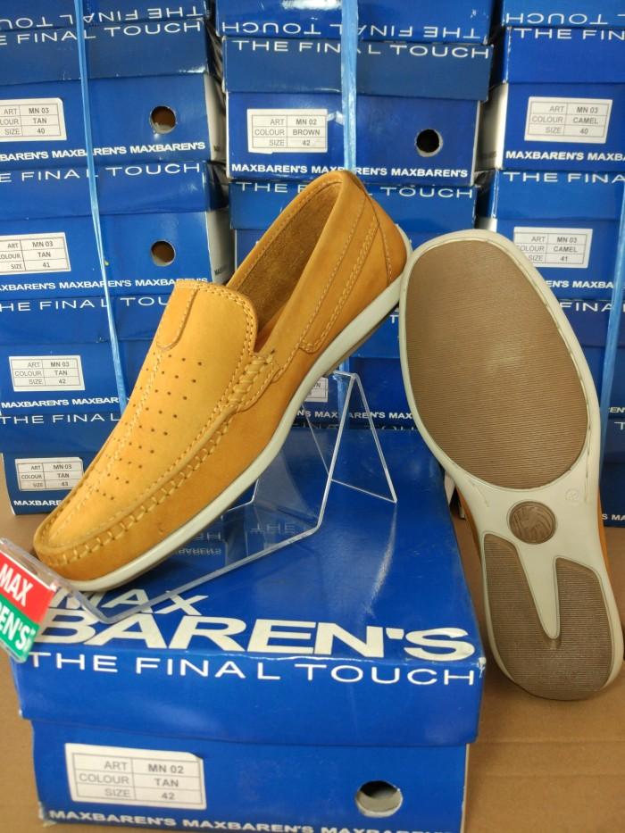 harga Sepatu max barens kulit casual pria keren original murah bagus mn 02 t Tokopedia.com
