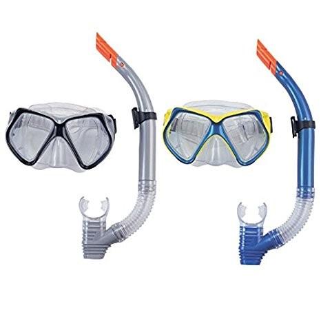 Bestway ocean dive set mask & snorkel masker kacamata selam snorkel
