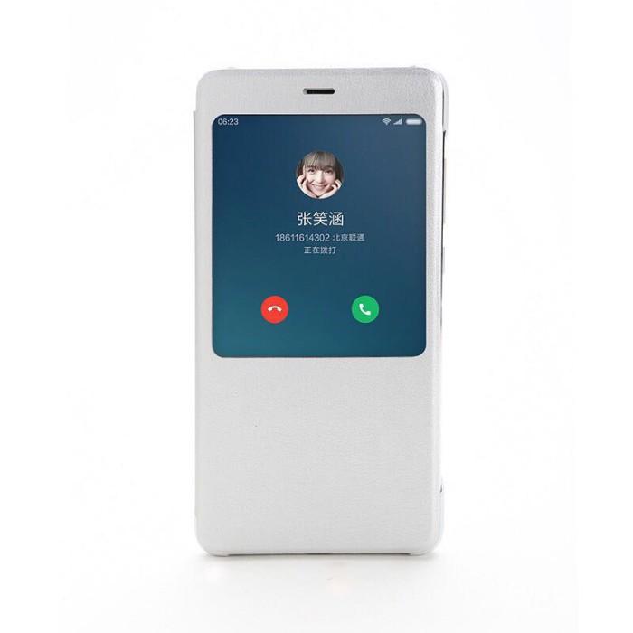 Xiaomi Original Smart Flip Case Cover Xiaomi Redmi Note 4 (Mediatek)