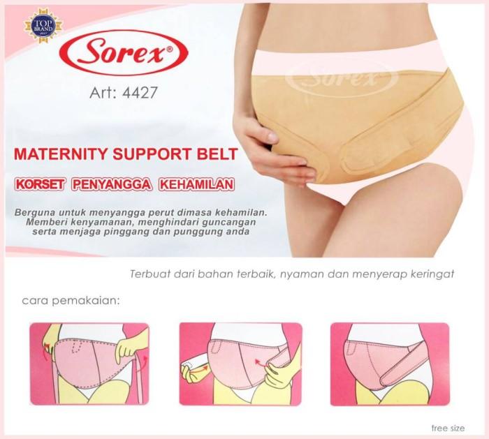 harga Sorex 4427   maternity belt / penyangga kehamilan Tokopedia.com