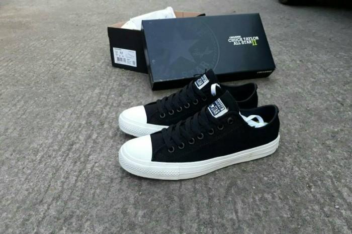 Jual Sepatu Converse All Star CT 2 Black Lunarlon Premium Original ... b7bc4977f4