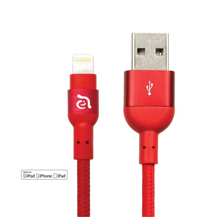 harga Cable lightning 120cm adam elements peak 120b red Tokopedia.com