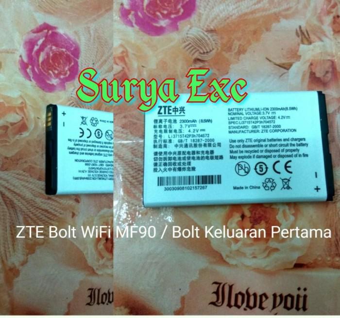 harga Baterai bolt wifi mifi zte mf90 / bateray modem zte bolt mf 90 ori Tokopedia.com