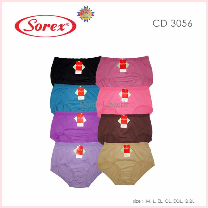 OBRAL Celana Dalam Wanita Sorex 3056 Bahan Katun Lembut Termurah M - X 0f1e2562a5