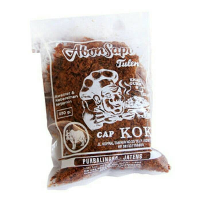 harga Abon sapi cap koki 250 gram pedas Tokopedia.com
