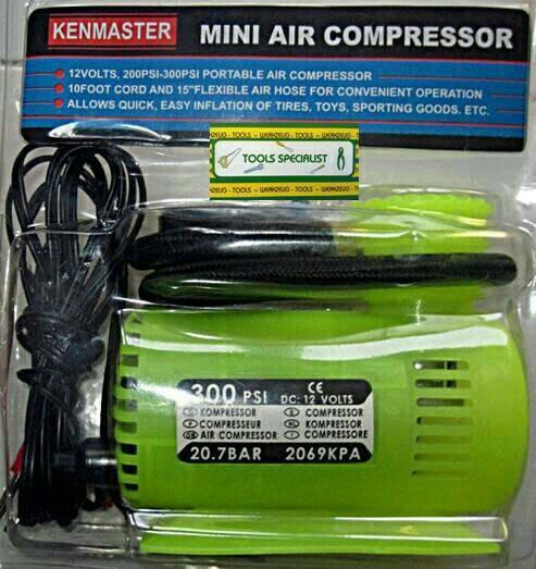 Foto Produk KOMPRESOR Mini.Pompa Portable KENMASTER dari zahwaherbal