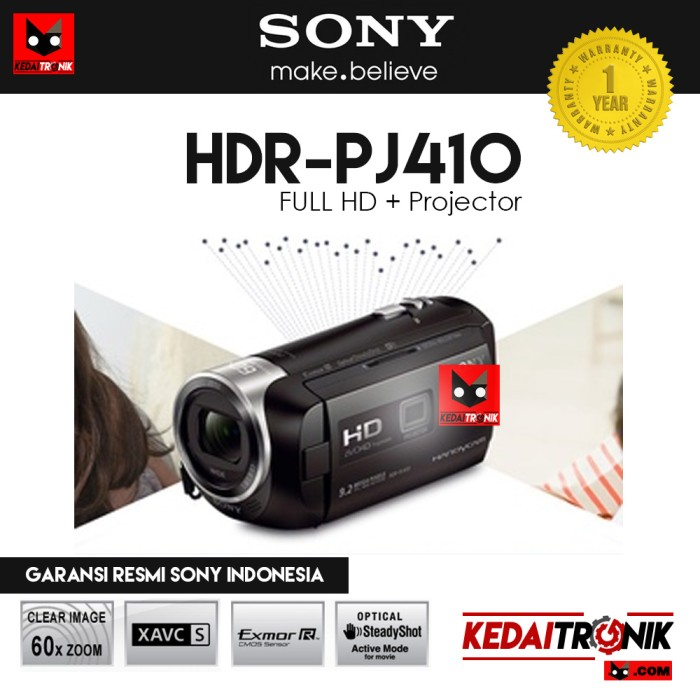 harga Ori!! handycam sony hdr pj410 camera camcorder projector Tokopedia.com