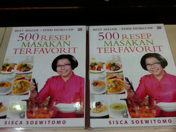 Jual 500 Resep Masakan Terfavorit Sisca Soewitomo Buku Gaul