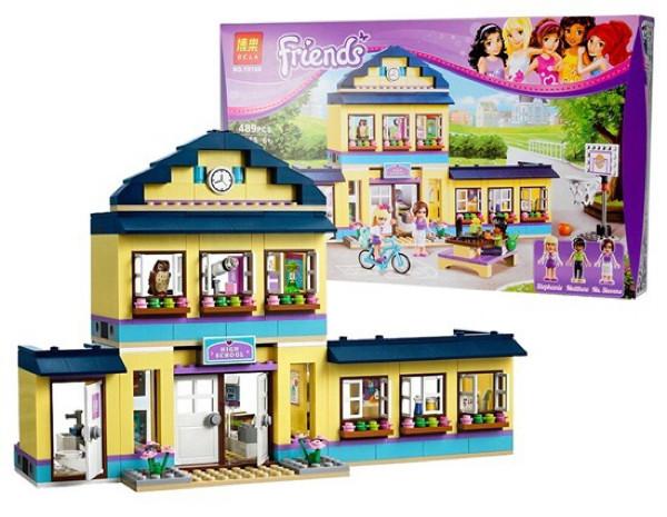 Jual Lego Kw Bela 10166 Friends Heartlake City High School