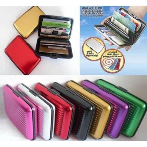 harga New aluminium credit card holder pocket business id security wallet Tokopedia.com