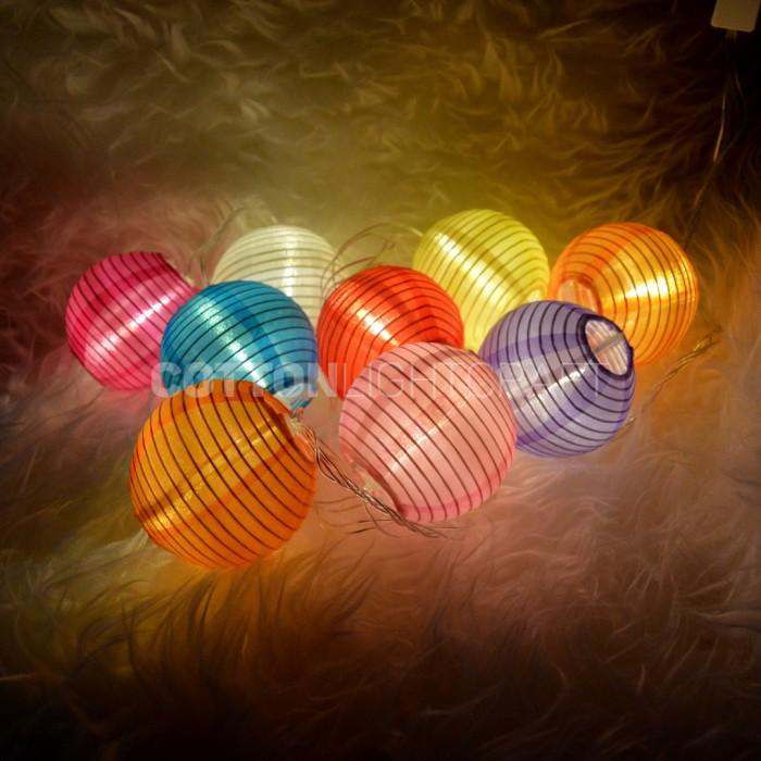 harga Lampion string light - tumblr lamp - cotton ball light - lampu gantung Tokopedia.com