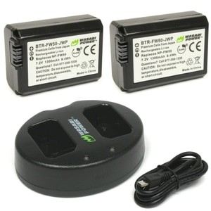 harga Wasabi power battery (2-pack) and charger for sony np-fw50 Tokopedia.com