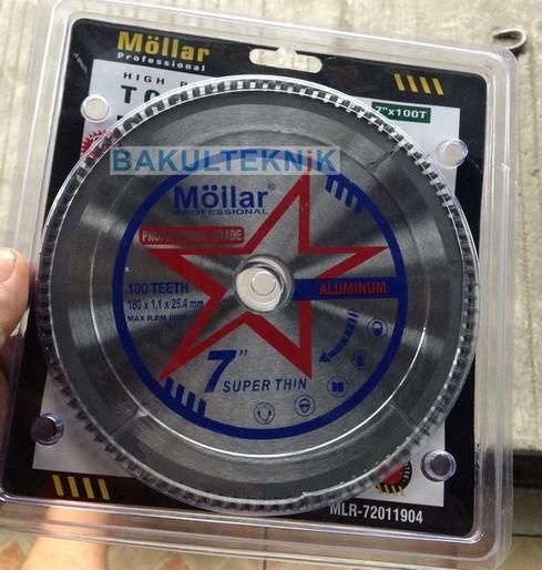 harga Mata gergaji miter saw 7  t100 mollar super thin Tokopedia.com