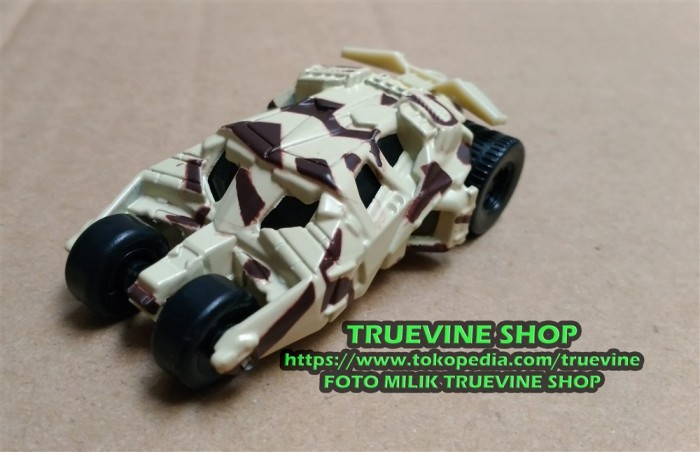 Dream TOMICA Batmobile 4th (Camouflage Version) - Diecast TAKARA TOMY