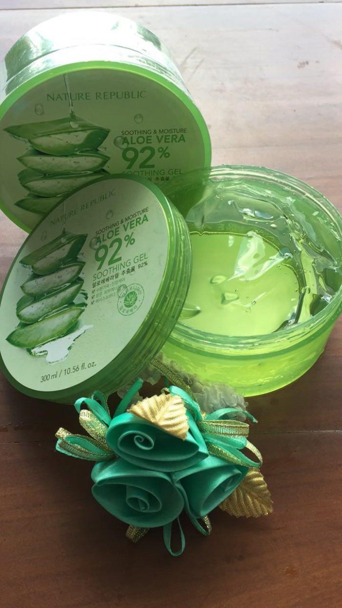 Jual Nature Republic Aloe Vera 92 Soothing Gel 300ml Anchorlady