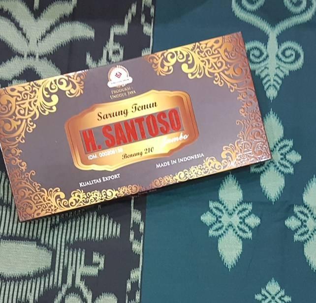 harga Sarung h. santoso motif samarinda bhs Tokopedia.com