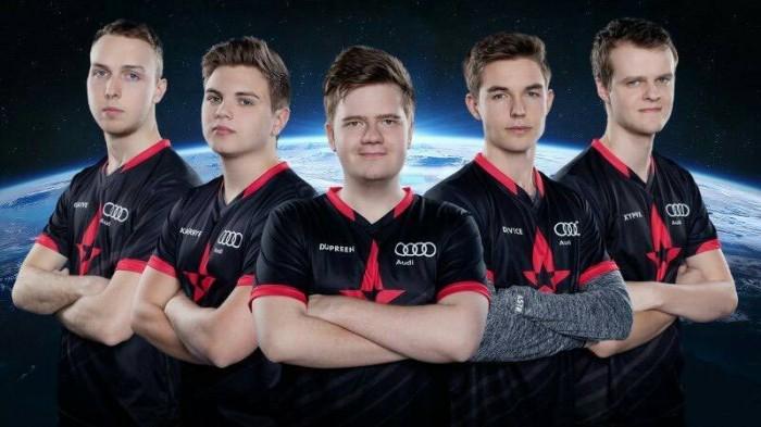 Baju kaos Jersey Gaming Team Astralis 2017