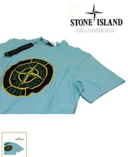 harga Tshirt baju kaos stone island Tokopedia.com